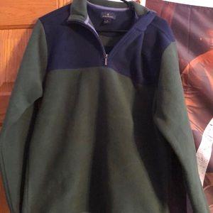Brooks Brothers fleece half zip NEVER WORN